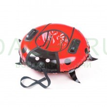 Тюбинг LadyBug Red (Диаметр 100 см)