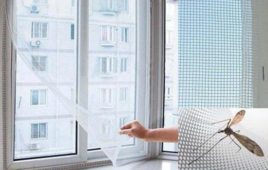 Сетки на окна от комаров